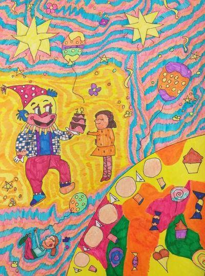 Виктория Въткова ученичка от 3а клас с награда от престижен конкурс за рисунка - Изображение 5